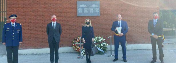 Bruxelles, cerimonia di commemorazione della tragedia dell'Heysel (29 maggio 1985 – 29 maggio 2020)