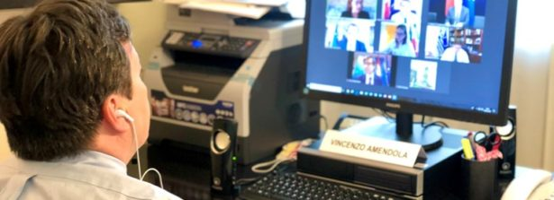 Si è svolto in videoconferenza un incontro tra i Ministri per gli Affari Europei di Cipro, Francia, Grecia, Italia, Malta, Portogallo e Spagna
