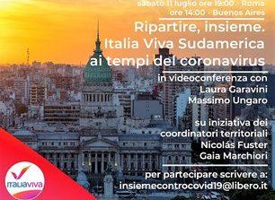 Italia Viva nel mondo, l'11 luglioincontro con i comitati del Sudamerica