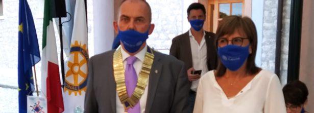 Rotary Club Belluno: Maria Chiara Santin è il nuovo presidente