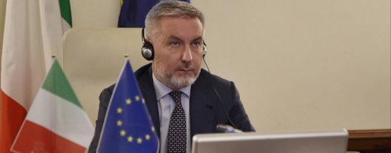 """Il Ministro Guerini alla videoconferenza dell'American Chamber of Commerce in Italy su """"La centralità della relazione transatlantica per il settore Aerospace & Defense"""""""