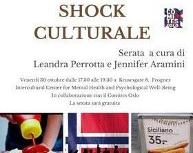 Domani sulla piattaforma Zoom una serata sullo Shock Culturale a cura di Jennifer Aramini e Leandra Perrotta