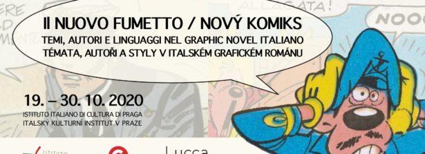 """A Praga la mostra """"Il nuovo fumetto: temi, autori e linguaggi nel Graphic Novel italiano"""", la presentazione della traduzione ceca di """"Una ballata del mare salato"""" di Hugo Pratt e un tributo a Gianni Rodari"""