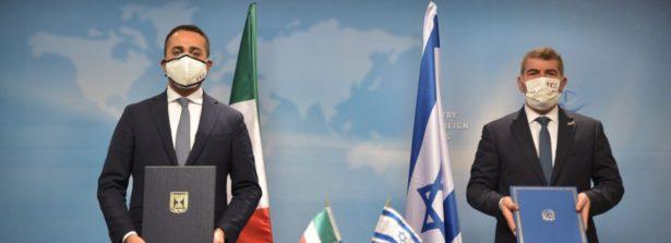 Visita del ministro Di Maio in Israele: firmato Protocollo di collaborazione in campo culturale e scientifico
