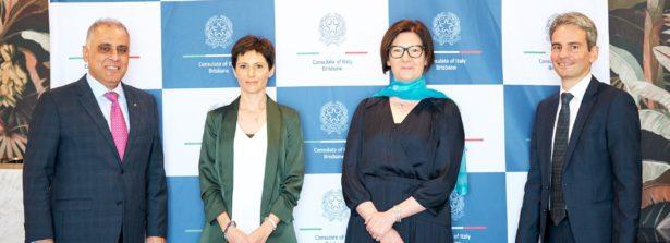 Riunione del Sistema Italia a Brisbane (Australia) alla presenza dell'Ambasciatrice Francesca Tardioli