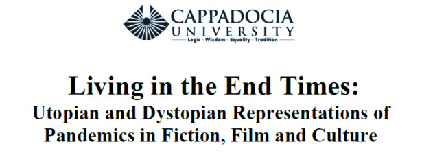 """Dal 13 al 15 gennaio la Conferenza Living in the End Times: Utopian and Dystopian Representations of Pandemics in Fiction, Film and Culture"""""""