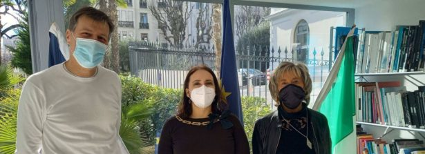 La Console Generale a Nizza Caterina Gioiella incontra il Cda della Camera di Commercio Italiana