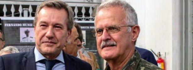Le condoglianze del Console Generale a Porto Alegre, Roberto Bortot, per la morte del Generale Geraldo Antonio Miotto