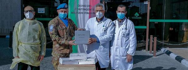 Unifil: donati dal contingente italiano sistemi di videolaringoscopia
