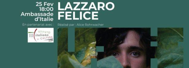 """Ambasciata d'Italia ad Algeri: proiezione di """"Lazzaro Felice"""" di Alice Rohrwacher"""