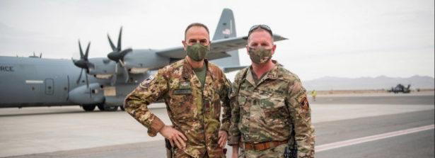 Il Comandante della Missione NATO in Afghanistan Resolute Support (RS)  Generale Austin Scott Miller al TAAC-W di Herat