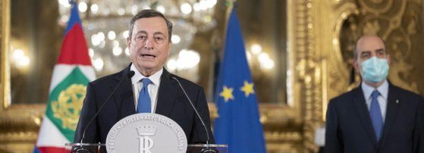 """Le dichiarazioni del Presidente incaricato Mario Draghi: """"Abbiamo l'opportunità di fare molto per il nostro Paese con uno sguardo attento al futuro delle giovani generazioni e al rafforzamento della coesione sociale"""""""