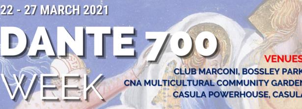Dal 22 al 27 marzo la Settimana di Dante organizzata dalla Marco Polo – The Italian School of Sydney per i 700 anni dalla morte del Sommo Poeta