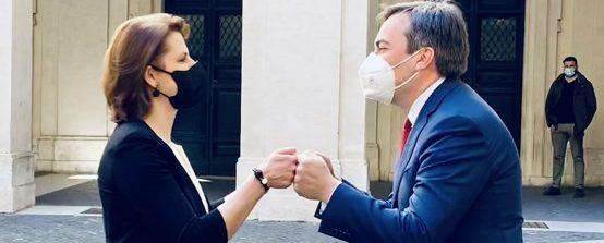 Austria-Italia, Amendola: Insieme per certificato verde UE e campagna vaccini