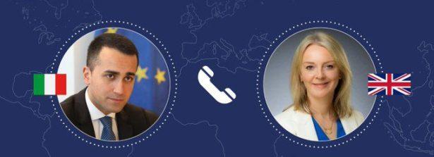 Colloquio telefonico del Ministro Di Maio con la Segretaria di Stato al Commercio Internazionale del Regno Unito, Elizabeth Truss