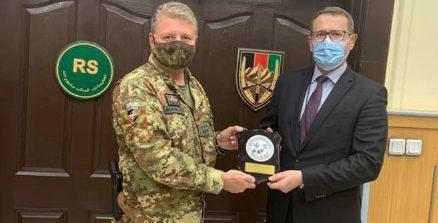 Missione in Afghanistan: il Generale Zanelli incontra l'Ambasciatore australiano Wojciechowski