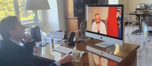 Incontri dell'ambasciatore d'Italia a Malta Fabrizio Romano con personalità maltesi e italiane