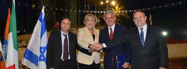 A Netanya in Israele intitolata piazza a Sanremo