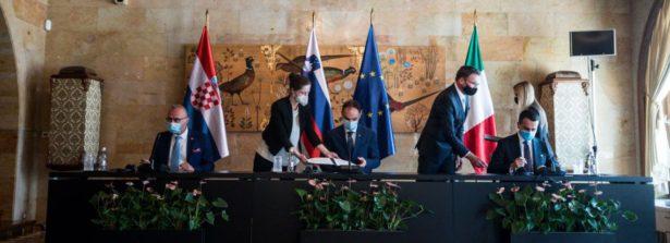 Il ministro Di Maio in Slovenia per incontro trilaterale con il ministro sloveno Logar e il ministro croato Radman