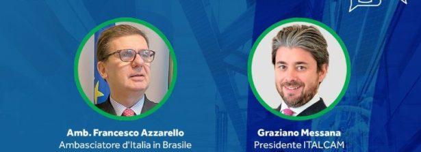 """Italia-Brasile, webinar """"Scambi di tecnologia e opportunità nel settore dei macchinari"""""""