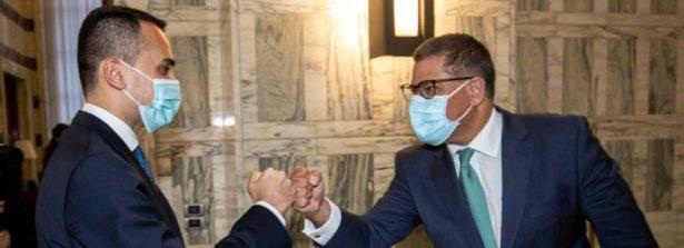 Il Ministro Di Maio riceve alla Farnesina il Presidente della COP26, Alok Sharma