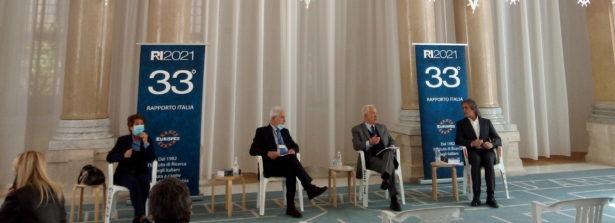 """Presentazione 33° Rapporto Italia Eurispes, Gian Maria Fara: """"L'Italia, un Paese da ricostruire e da rimettere in moto"""""""