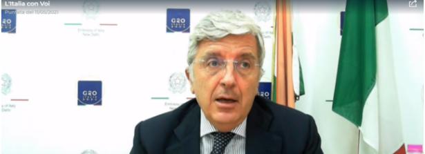 """A """"l'Italia con Voi"""" interviene in collegamento Vincenzo De Luca, ambasciatore d'Italia in India, per un aggiornamento sulla situazione sanitaria in loco"""