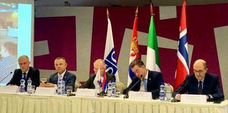 """L'ambasciatore d'Italia a Belgrado Carlo Lo Cascio ha partecipato alla cerimonia conclusiva del progetto OSCE """"Enhancing capacities of the Serbian police to fight corruption – Phase 2"""""""