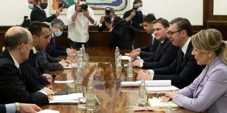 Sulla visita a Belgrado del Ministro Di Maio, comunicato della Presidenza della Repubblica di Serbia