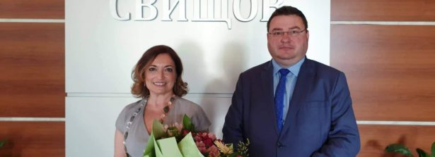 Missione dell'Ambasciatrice d'Italia in Bulgaria, Giuseppina Zarra a Svishtov e Russe