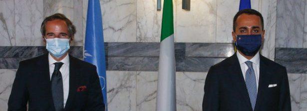 Il Ministro Di Maio ha incontrato il Direttore Generale AIEA Rafael Mariano Grossi