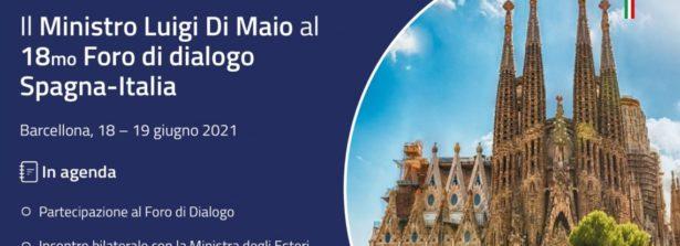 Missione in Spagna del Ministro Di Maio per la XVIII edizione del Foro di Dialogo Spagna-Italia