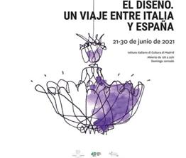 """Ambasciata d'Italia a Madrid: all'IIC """"Il Design. Un viaggio tra Italia e Spagna"""" (21-30 giugno)"""