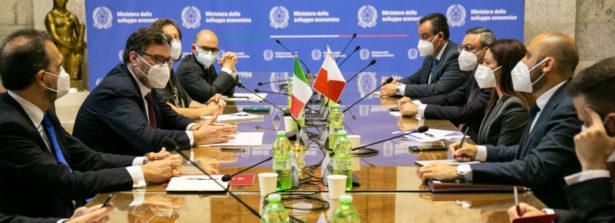 Il Ministro Giorgetti incontra il Ministro dell'Energia maltese Miriam Dalli