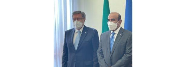 Il Ministro Giovannini riceve il Ministro dei Trasporti del Qatar