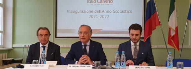 Alla Scuola Italiana Italo Calvino di Mosca, inaugurato l'anno scolastico 2021-2022