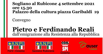 Dall'emigrazione alla Resistenza alla Repubblica: a Sogliano al Rubicone un convegno su Pietro e Ferdinando Reali