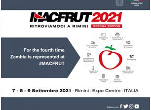 Ambasciata d'Italia a Lusaka: Stand zambiano al MACFRUT di Rimini