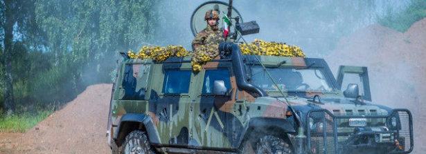 Nella Missione in Lettonia i militari italiani in forza all'eFP Battle Group Latvia partecipano alla Valiant Strike