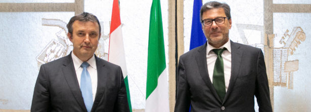 Italia-Ungheria: Giorgetti incontra il ministro Palkovics
