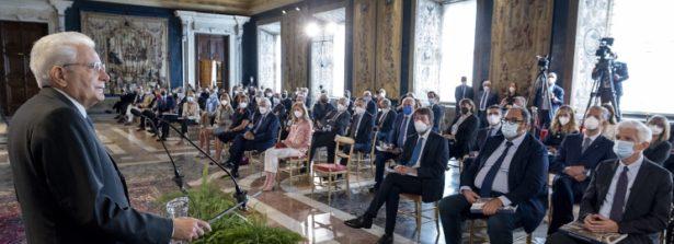 """Il Presidente Mattarella ha inaugurato l'edizione 2020-2021 di """"Quirinale contemporaneo"""""""