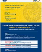 """""""Una rete di donne nel mondo"""", il 21 settembre convegno del Soroptimist International Italia presso il CNEL"""