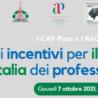 """Domani il webinar """"Quali incentivi per il rientro in Italia dei professionisti?"""""""
