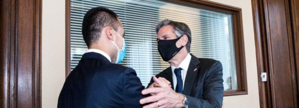 Incontro del Ministro Di Maio con il Segretario di Stato statunitense Blinken