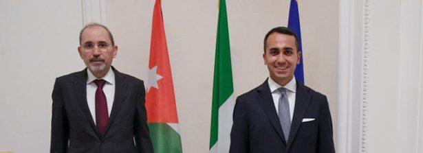 Il Ministro Luigi Di Maio ha incontrato il Vice Primo Ministro e Ministro degli Esteri giordano Ayman Safadi